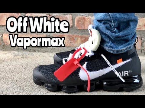 Nike Vapormax Off White on feet