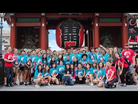 TUJ High School Summer Program in Tokyo, Japan (2018 Highlights)
