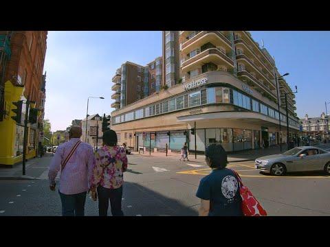 Walking London's FINCHLEY ROAD incl. High Street Shops