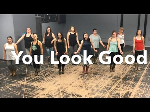 "Lady Antebellum ""You Look Good"" Line Dance (Boot Boogie Babes)"