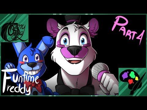 "SpeedPaint ""Funtime Freddy"" [Making Characteres - PART 4] FNAF SL"