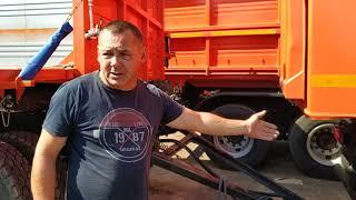 Приехали клиенты из Крыма ( Севастополь) за КАМАЗОМ 6520