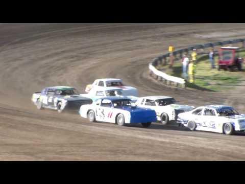 Dacotah Speedway Wissota Street Stock Heats (6/16/17)