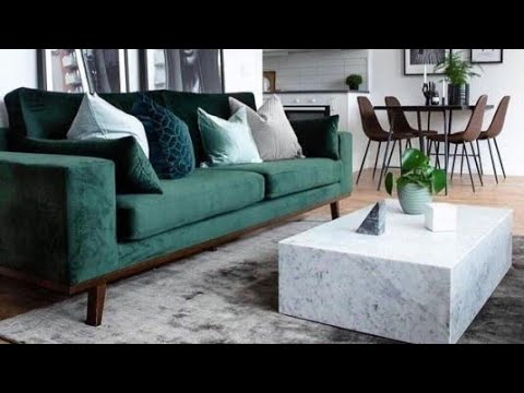 Green living room ideas ✔️