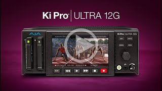 Ki Pro Ultra 12G 4K/UHD/2K/HD Recorder and Player Overview Video