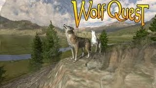Wolf Quest: Ep2 - Grizzly Bears are chasing me!
