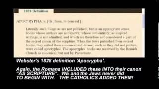 BIBLE CANON LIE DESTROYED! - Council of Nicaea did not decide canon- YouTube.flv
