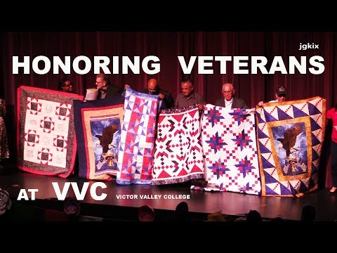 Honoring Veterans at Victor Valley College