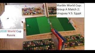 Marble World Cup: Group A Match 2: Egypt V.S. Uruguay