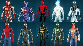Spider-Man Ps4 - EVERY Suit/Costume Unlocked