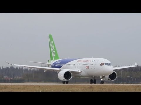 China's C919 jet completes its fifth trial flight