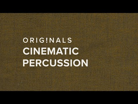 Originals: Cinematic Percussion — Available Now!