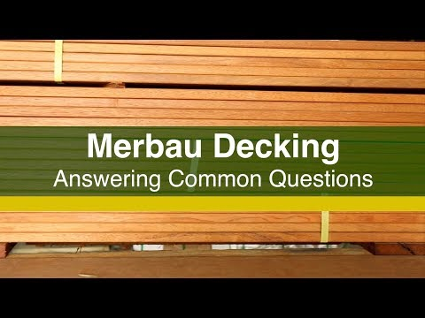 Merbau Decking FAQs - Answering Common Questions About Merbau Decking