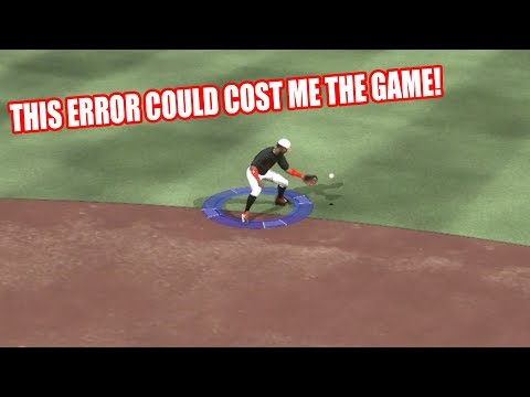 THIS ERROR COULD COST ME THE GAME!  - MLB The Show 17 Battle Royale Diamond Dynasty Gameplay