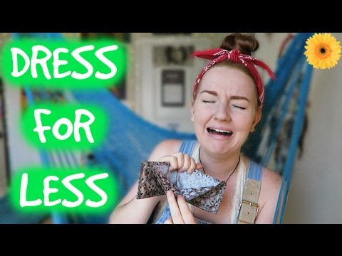 DRESS FOR LESS | MEGHAN HUGHES