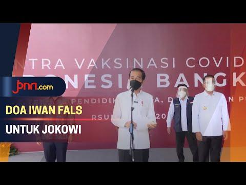 Doa Iwan Fals untuk Ultah Presiden Jokowi