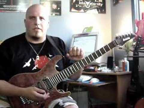 INTO ETERNITY - The Riffs for