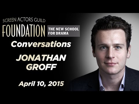Conversations with Jonathan Groff
