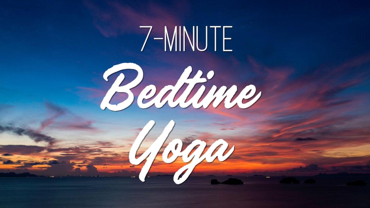 7 Minute Bedtime Yoga - Yoga With Adriene - YouTube