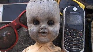 River Treasure: Creepy Doll, 2 iPhones (5 phones), Hillary's Hard Drive  And MOAR!