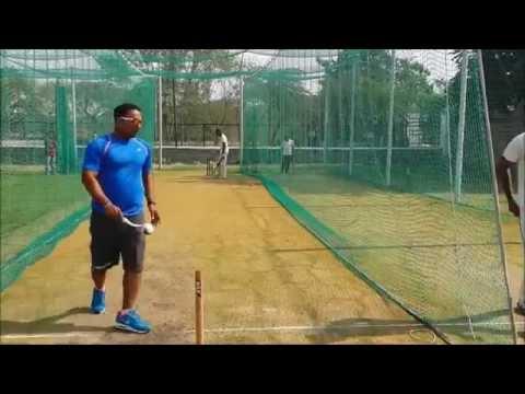 BCCI Coach Dileep  Using Speedarm & Spingball in Nets
