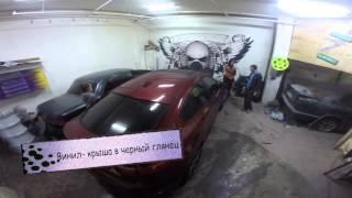Покраска в  Black matt plasti dip в Жулебино #5ser(www.original-car.ru vk.com/originalcar Винил тонировка и plasti dip., 2015-04-17T00:59:39.000Z)