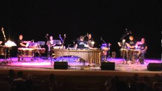 Sergei Buranov perfomes Marimba Spiritual by M.Miki with Grig percussion group.avi