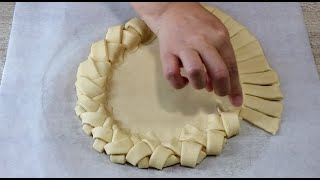 Пирог косичка с Картошкой Это ТО что Вы искали Тесто воздушное как ПУХ