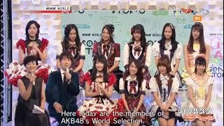 AKB48 เตรียมจัด World Senbatsu (AKB48 53rd Single World Senbatsu General Election) เดือนมิถุนายนนี้ AKB48 検索動画 42