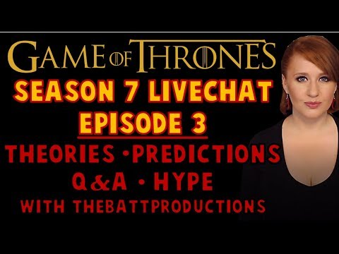 LIVECHAT: Episode 3 Discussion & Predictions w/TheBattProductions (SPOILERS)