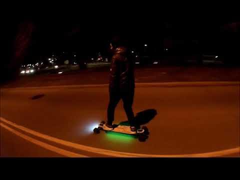Metroboard Electric Skateboard at Corona Park