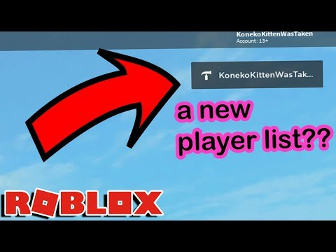 Roblox Updated The Player Lists And It S Actually Good Youtube