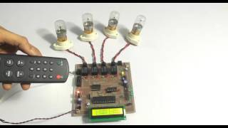 TV Remote Control Home Automation using PIC