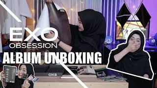 "Baixar UNBOXING EXO 엑소 ""OBSESSION"" THE 6TH ALBUM 🏴 🏳️"