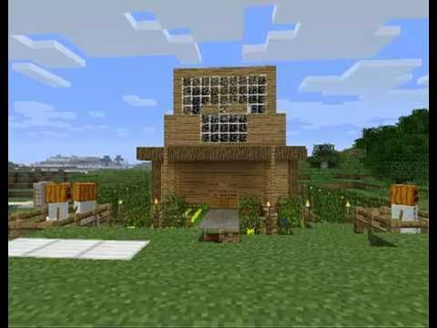 Minecraft casa moderna download youtube for Casa moderna minecraft pe 0 10 5