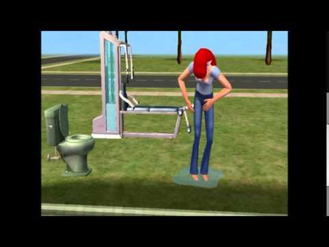 Ariel pees her pants