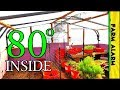 How to Heat your Greenhouse in the Winter - Wood Furnace