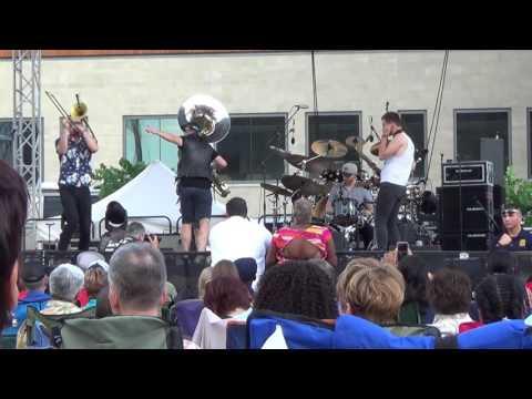 Lucky Chops @ Rochester International Jazz Festival