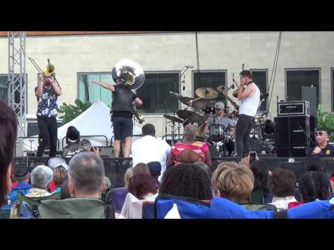 Lucky Chops @ Rochester International Jazz Festival