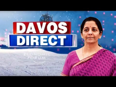 Commerce Minister Make The India Pitch | #Davos2017