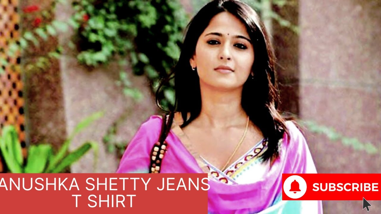 Download Anushka Shetty Jeans T shirt