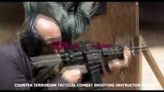 Manrico Erriu teaching at the Counter Terrorism Tactical Combat Shooting Instructor Course