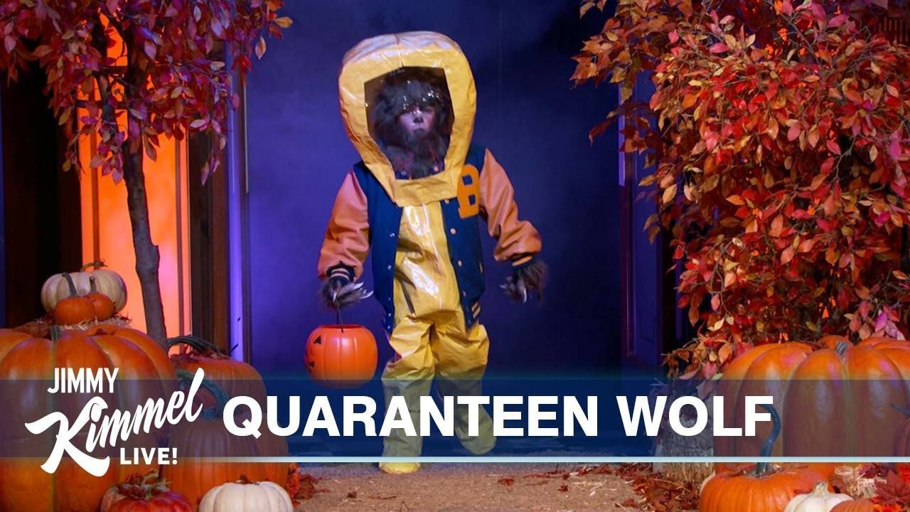 Download Jimmy Kimmel's COVID-Safe Halloween Costume Pageant