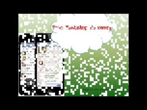 How To Do Free Whatsapp Recovery