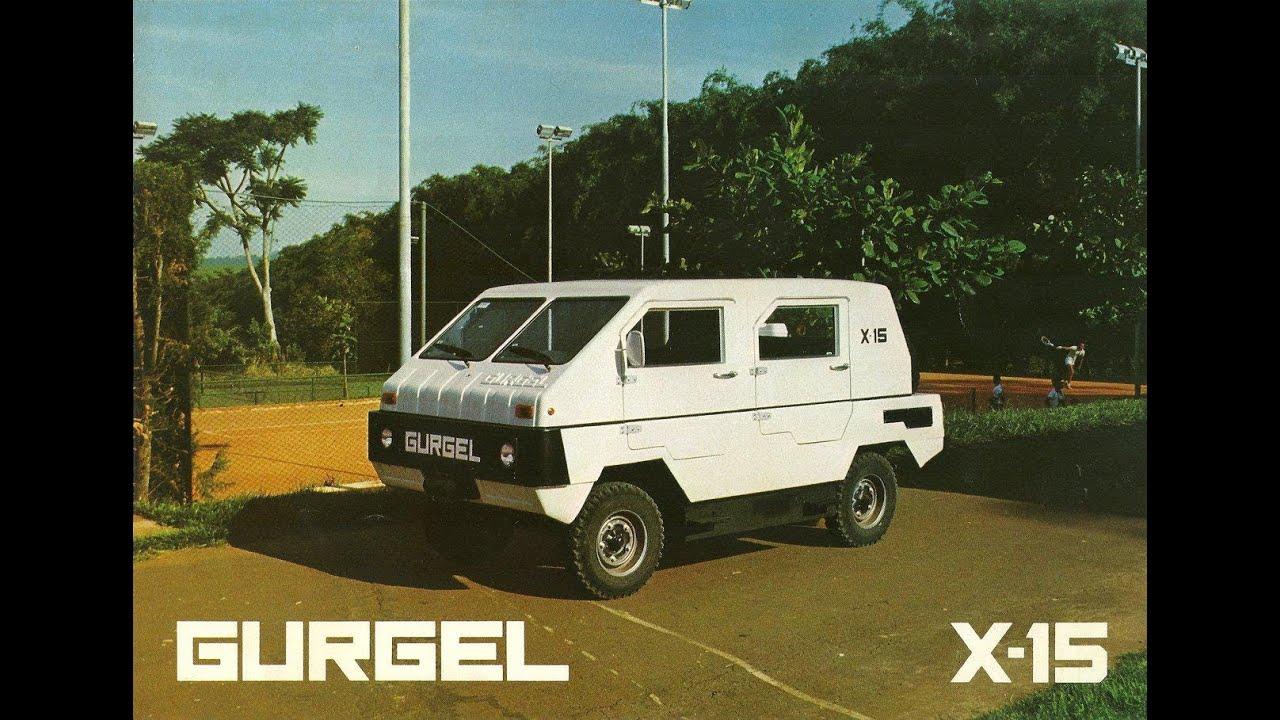 Gurgel X 15 Youtube