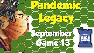 Pandemic Legacy Playthrough: September, Game 13 (SPOILERS)
