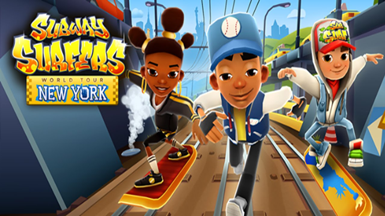 subway surfers 37 novidades da atualiza o de new york 2015 youtube. Black Bedroom Furniture Sets. Home Design Ideas