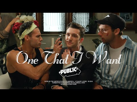 PUBLIC - One That I Want [Official Video]
