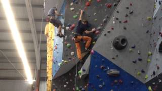 Pink comp route High Sports Brighton