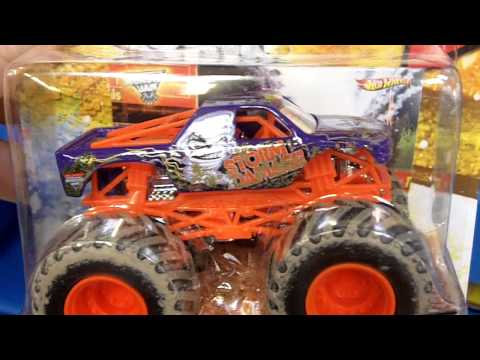 Hotwheels Monster Jam Monster Trucks at Toys R Us